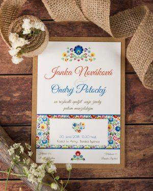 ľudové svadobné oznámenia