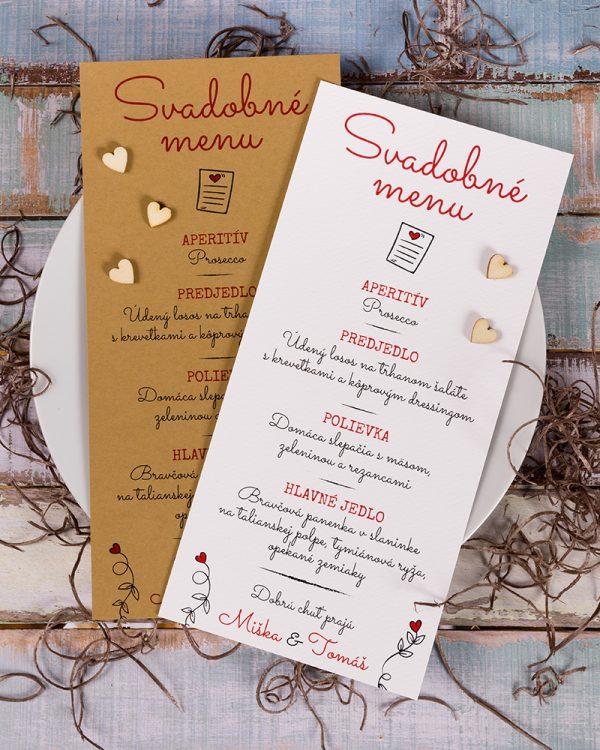 jednoduche svadobne menu