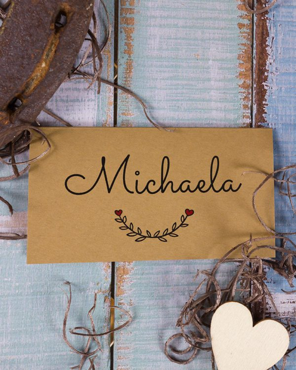 jednoduche svadobne menovky