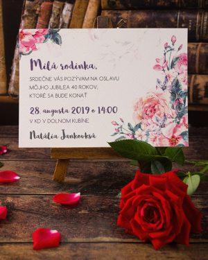 61c316ba5 Pozvánka na oslavu narodenín a životné jubileum - oznamimto.sk