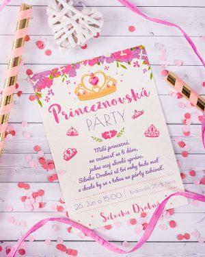 pozvánka na narodeniny pre dievčatá