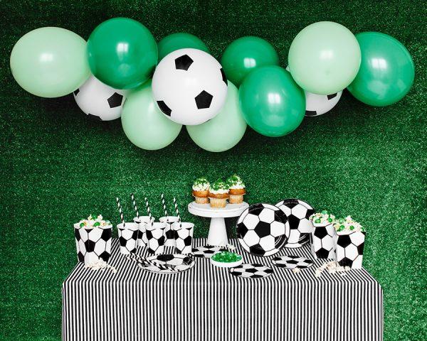 Dekoračná sada na oslavu, motív futbal