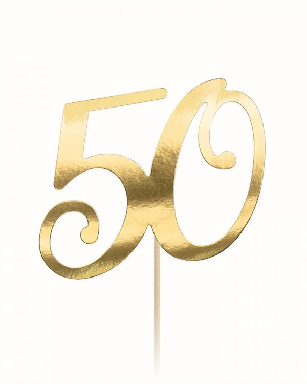Zápich do torty s vekom 50