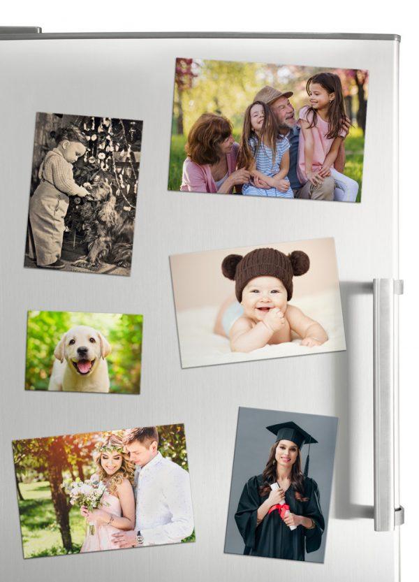 Magnetky s fotkou na chladničku